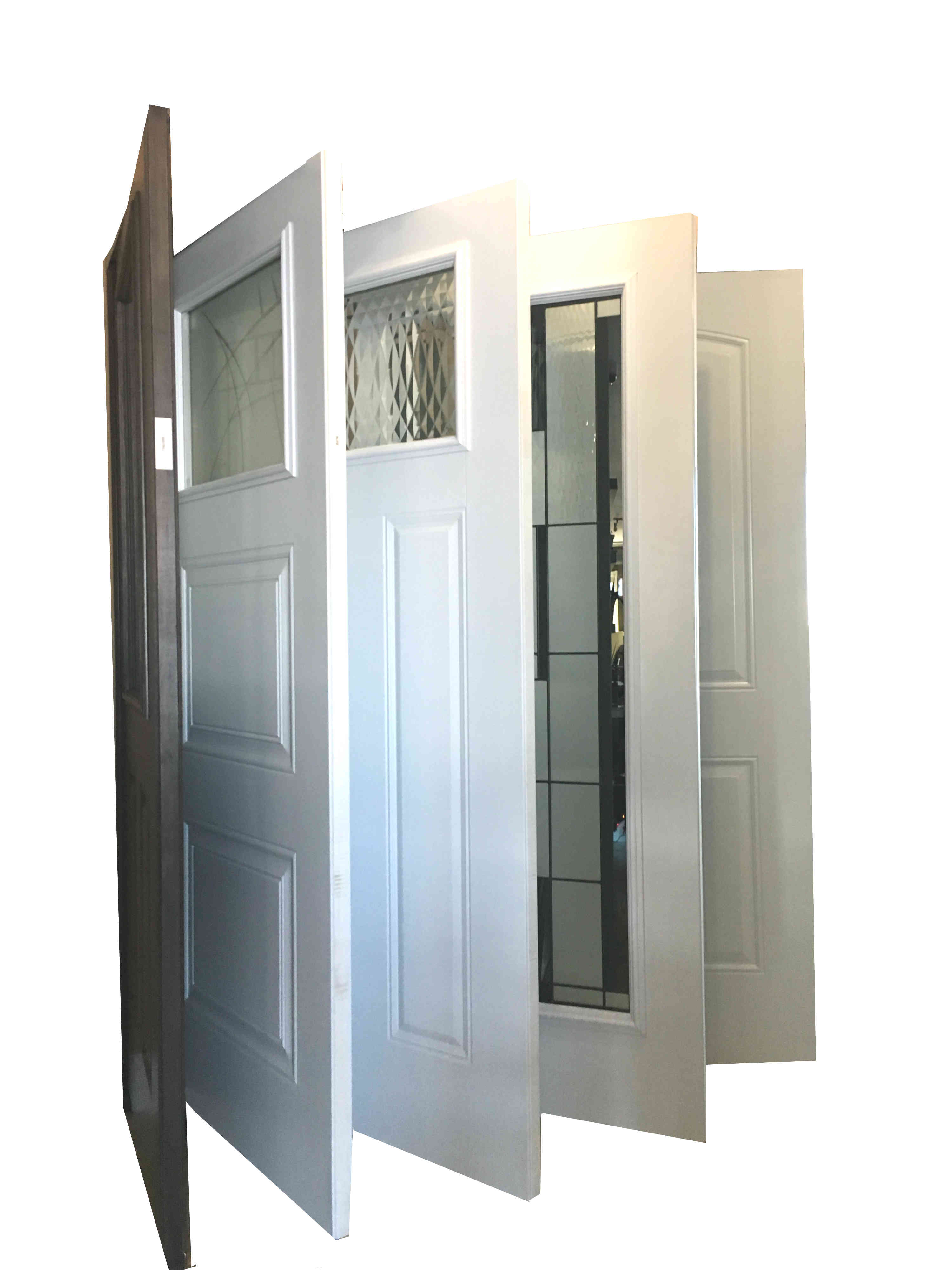What Types of Door Construction Materials are Available?